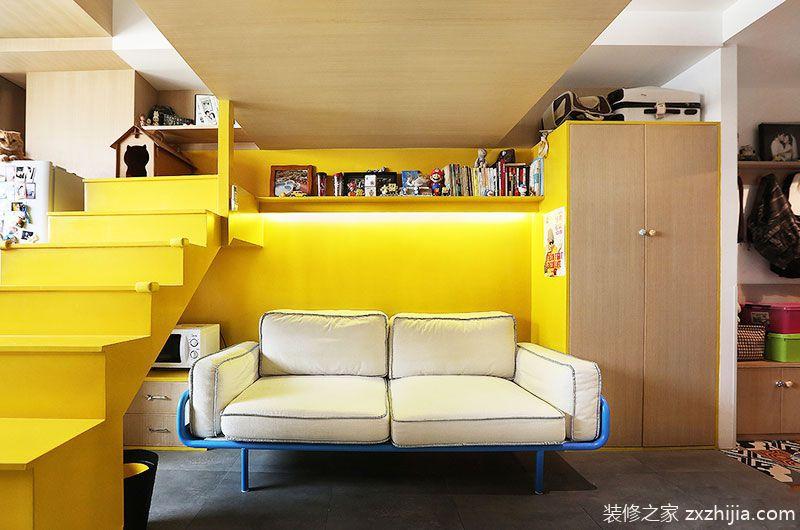 35平米小户型loft装修 小空间挑战极限