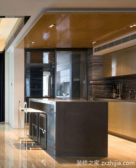 260平现代简约风格样板房装修 轻奢新主义