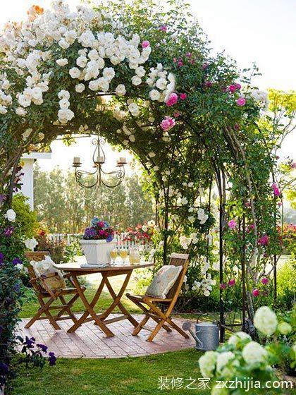夏日心情匯 10個歐式小花園設計效果圖