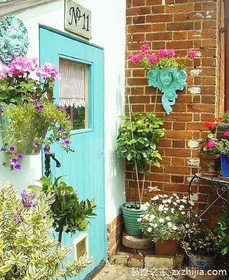 夏日心情汇 10个欧式小花园设计效果图图片