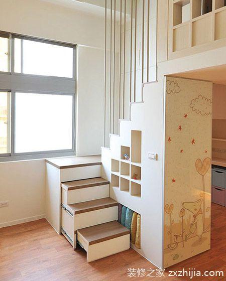 40平小户型公寓装修图 变身游戏城堡