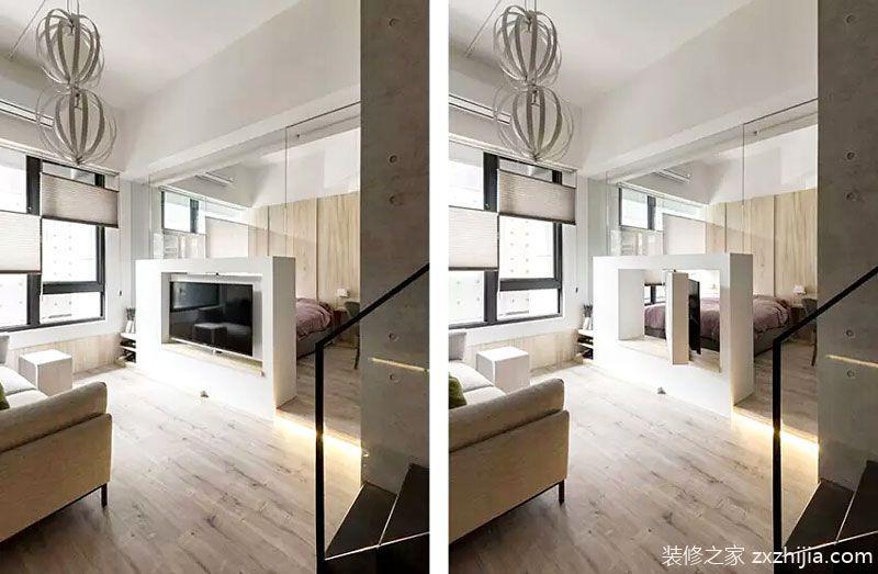 灰色空间的性感装 40平小户型单身公寓装修