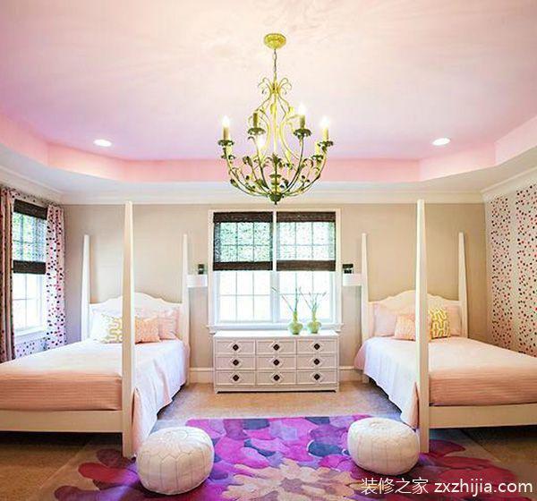 几个宝贝的房间 11个双人儿童房装修效果图