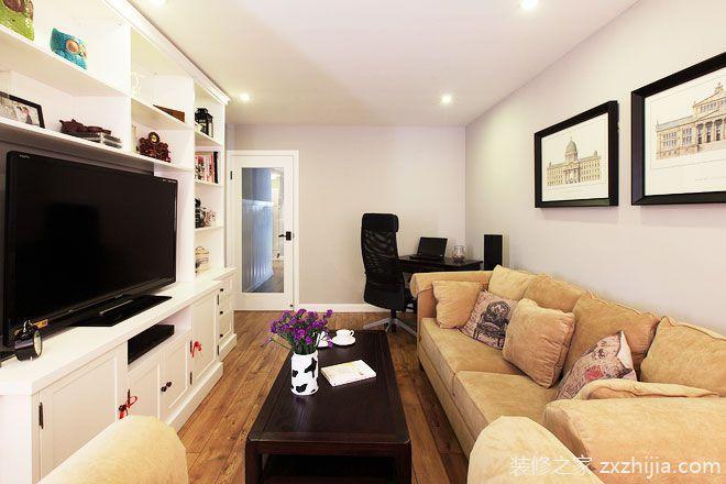 85平米房屋裝修效果圖 簡約美式設計