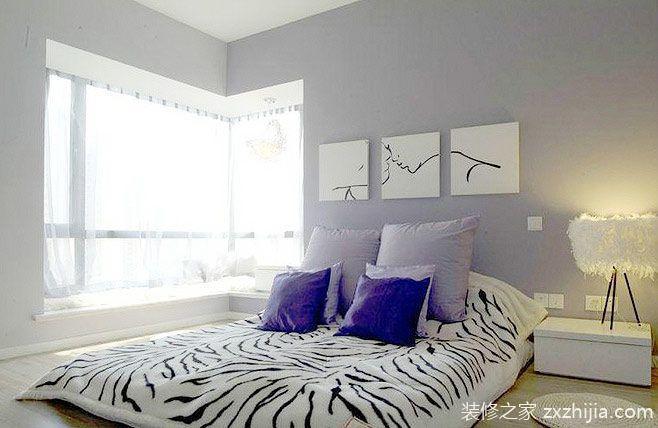 就爱宅床上 11款卧室转角飘窗设计图片
