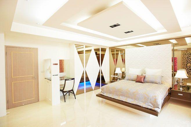 14张卧室吊顶造型效果图 个性十足
