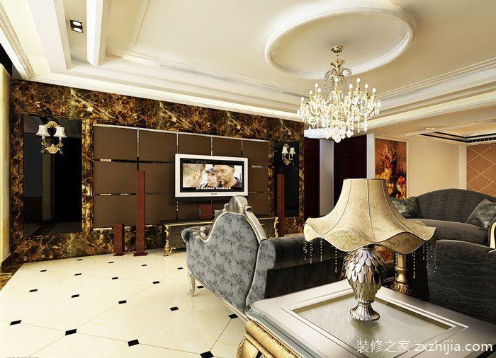 浪漫欧式装修 15款简欧电视背墙设计