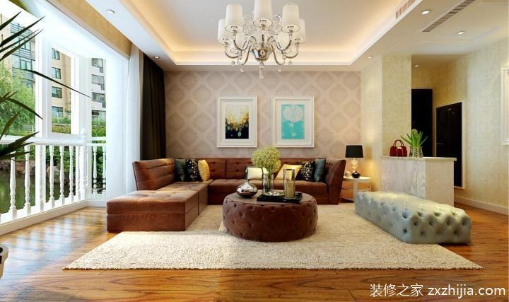14张客厅隔断墙效果图 不一样的欧式风图片