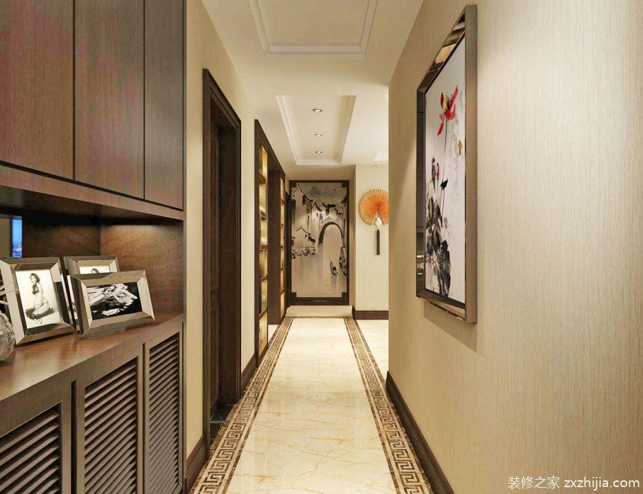 135平米三室两厅两卫装修效果图