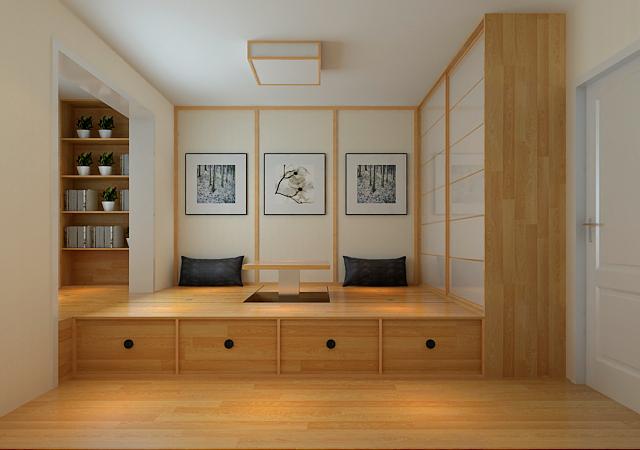 关于石家庄天洲沁园装修的效果图案例分享-新中式的哦