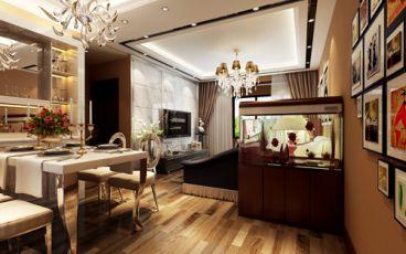 【紫云台】91平简约欧式风格打造美好家居