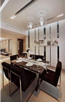 升龙玺园三居室现代简约装修设计