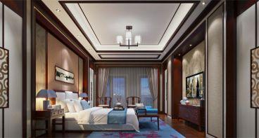 佳兆业金域天下欧式风格卧室装修