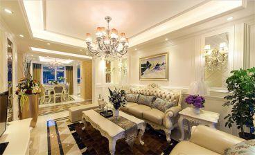 金地圣爱米伦欧式风格客厅装修
