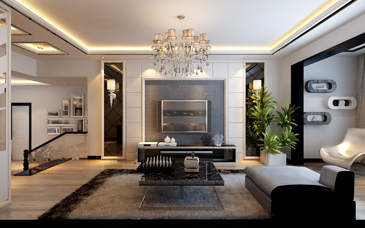 公务员小区简约风格两居室家装案例