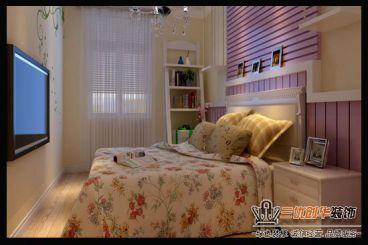 溫馨田園風格臥室