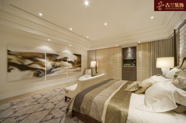 湖滨公寓卧室装修