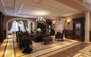 奢华欧式客厅装潢