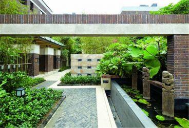 朗诗未来街区中式风格花园设计