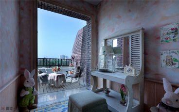 威尼斯水城田园风格卧室设计