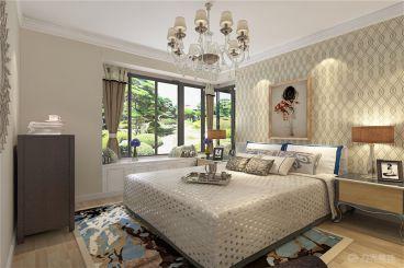 金禧园-112㎡- 简欧风格-卧室