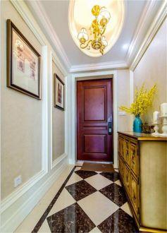 118平米美式风格进门玄关鞋柜