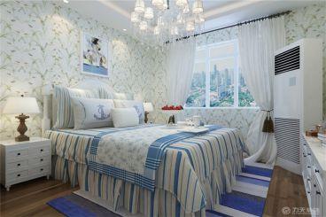 远洋城-75㎡-混搭风格-卧室