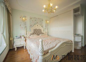 国际社区地中海风格卧室效果图