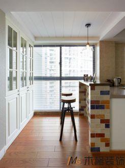 金融融景城美式風格廚房效果圖