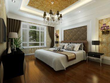 中海紫御华府欧式古典卧室装修图