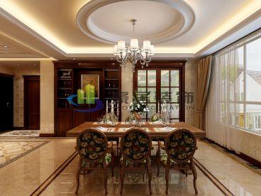 世纪华阳欧式古典风格餐厅