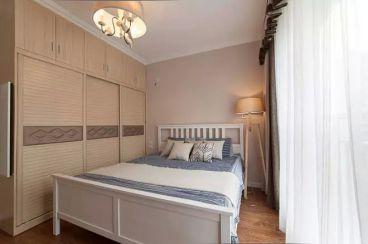 龙湖香堤120平三室卧室简约风格效果