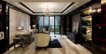 南环里小区欧式古典风格客厅效果图