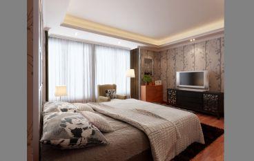 摩尔豪庭简欧风格卧室效果图