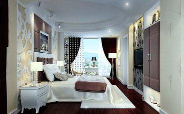 高尔夫国际花园欧式卧室效果图