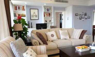 擎天半岛美式风格120平三居室装潢