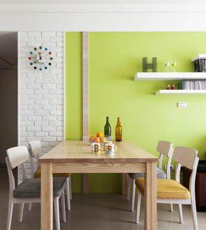 贡湖苑现代简约三房家装案例现代简约餐厅效果图
