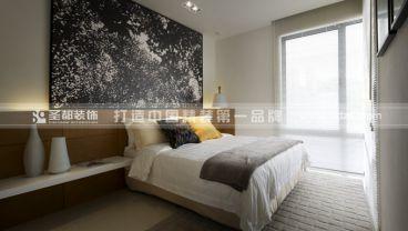 【现代风格】137方现代简约卧室效果图