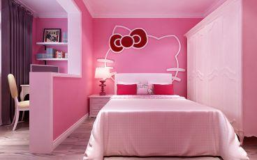 中房那里韩式卧室效果图