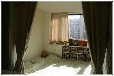 浩博几米阳光韩式卧室效果图