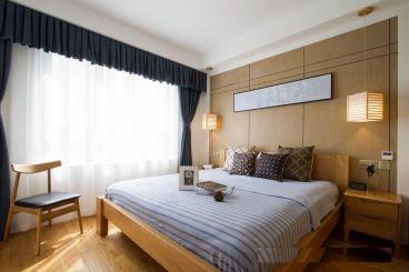 财信圣提亚纳日式卧室效果图