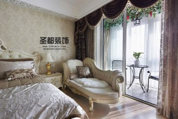 赞成林枫180方欧式古典卧室效果图