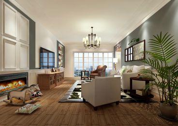 藏龙福地简约风格半包三居室装修