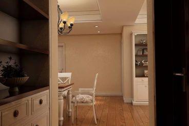 俊发城简欧风格全包三居室装修