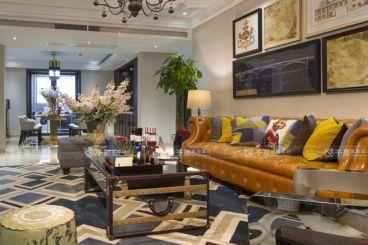 乾耀东港洋房美式风格半包三居室装修