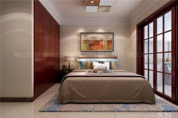 海尔绿城锦澜园现代简约卧室效果图