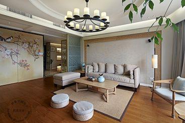 金帝海珀126平米中式风格家装