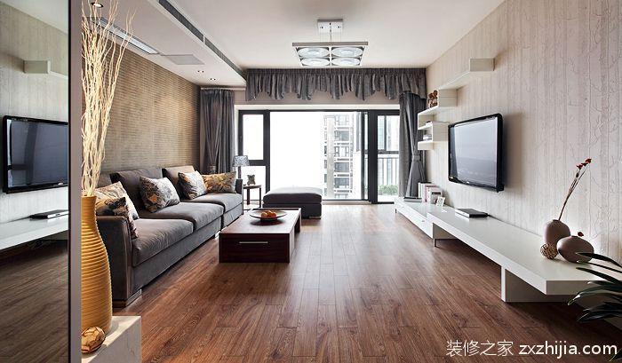中海塞纳丽舍美式风格半包住宅装修