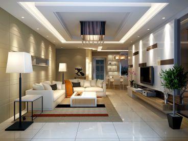 幸福时光简约风格120平三居室装修