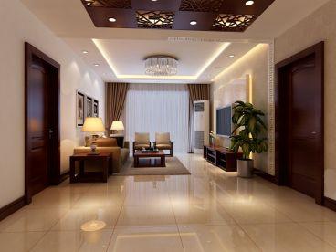 昌平区燕城苑3居新中式风格家装案例